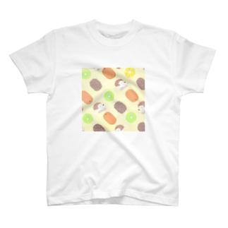 キウイ&ハリー T-shirts