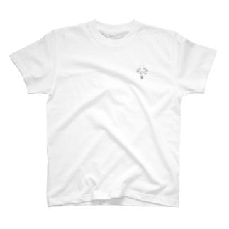 トラの威を借るウサギ (white) T-shirts