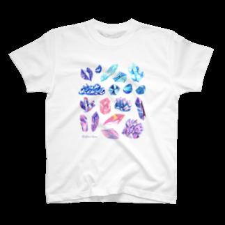 Coffret à bijouxの宇宙鉱物のコレクション T-shirts