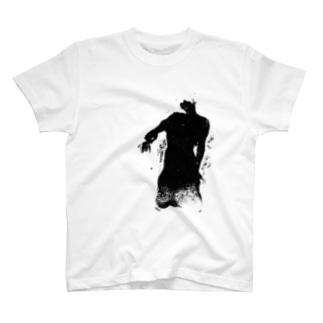 シルエット T-shirts