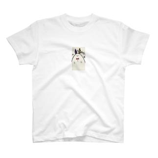 Pouと飛び出すうさぎさん T-shirts