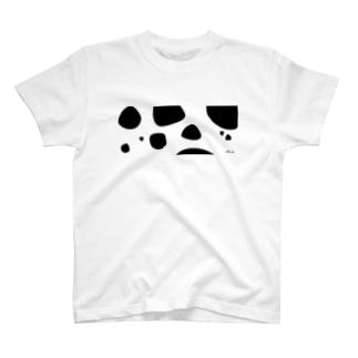 牛柄 T-shirts