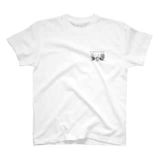 ウサパンゾウ T-shirts