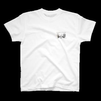 Masashi Kaminkoのウサパンゾウ T-shirts