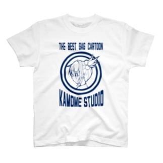 津軽杏樹ロゴTシャツ T-shirts
