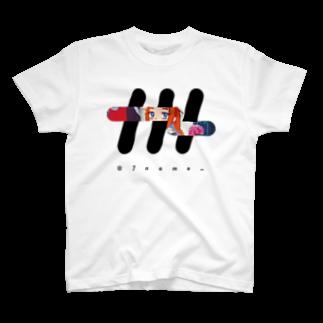 ナナメのナナメ×まう[自販機] Tシャツ