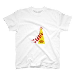 キャトルミューティレーションおじさんTシャツ T-shirts