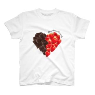 strawberry chocolate T-shirts