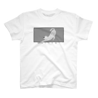 退屈な猫 -boring cat- T-shirts