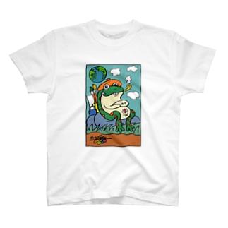 井の中の蛙  T-shirts
