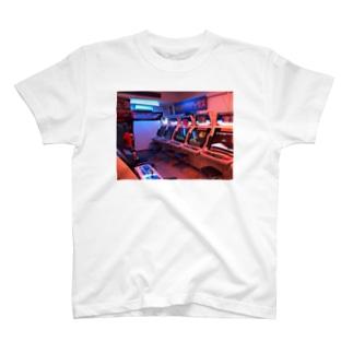 レトロマティック遊戯 T-shirts