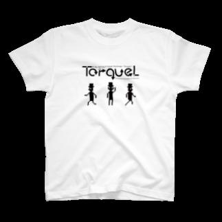 なんも@FullPowerSideAttack.comの人のトルクル(TorqueL) ロゴ&キャラクター T-shirts