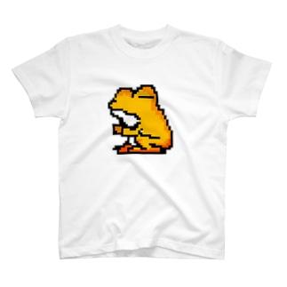 カエルのぺしゃんこ(中) T-shirts