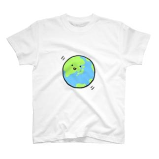 アースくん(文字なし) T-shirts