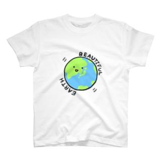 アースくん(文字あり) T-shirts