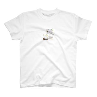 伊達メガネ度付きメガネ フレーム ゴールド流行りラウンド大きいフレーム購入 T-shirts