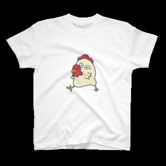 世紀末事件の口元がタコさんウインナーな鳥 T-shirts