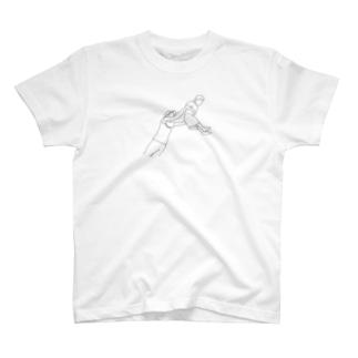 shinneくん(白塗りver) T-shirts