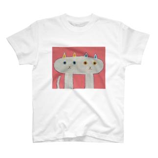 なかよしなねこ T-shirts