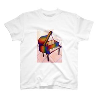 歪ピアノ ORIGIN T-shirts