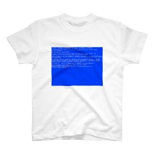 BSOD(Blue Screen of Death) T-shirts