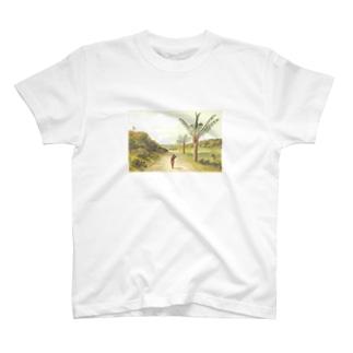 南国 ヤシ T-shirts