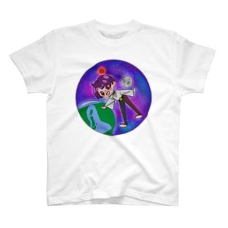 スペースガール T-shirts