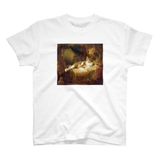 にゃふ像 T-shirts
