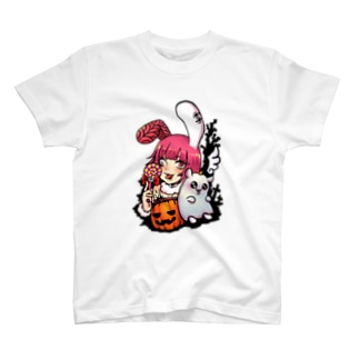 SsarxXのBrain Rabbit T-shirts