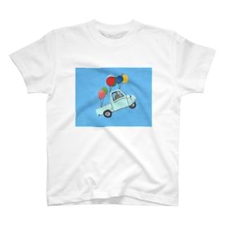 ふうせんダイハツミゼット T-shirts
