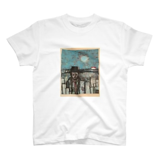 machi_wo_deru_hito T-shirts