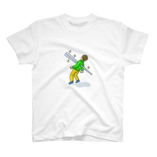 キラキラと輝くトゲが私を貫く T-shirts