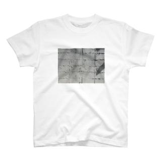 白い傷/傷みの記憶 T-shirts