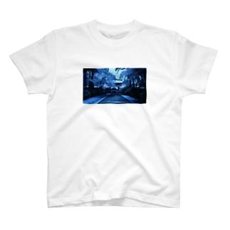 冬の金剛峰寺 T-shirts