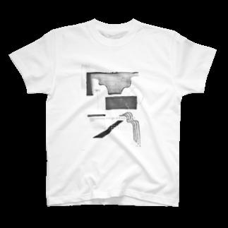 sue.の窓から見える水平線に T-shirts
