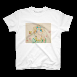 秋元了典の敦煌の仏たち 供養菩薩 T-shirts