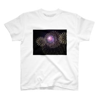 大輪花火 T-shirts