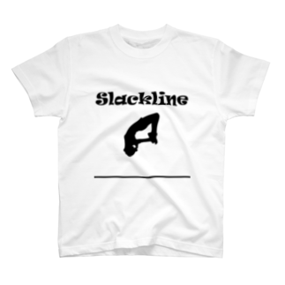 SLACKLINE HUB(スラックライン ハブ)のスラックライン(フリップ) T-shirts
