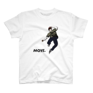 MOVE. T-shirts