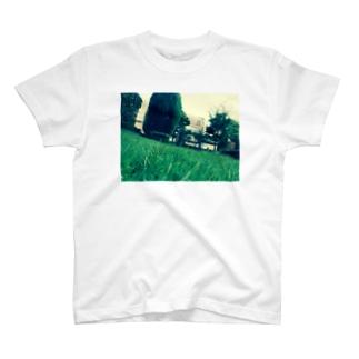 緑緑町には緑 T-shirts