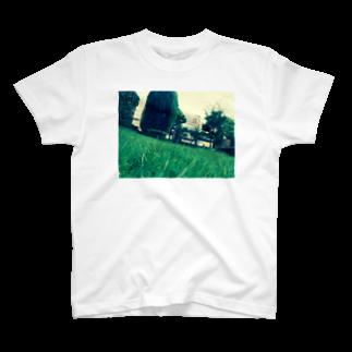 kin_love_terabeの緑緑町には緑 T-shirts