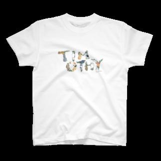SCHINAKO'SのTIMOTHY T-shirts