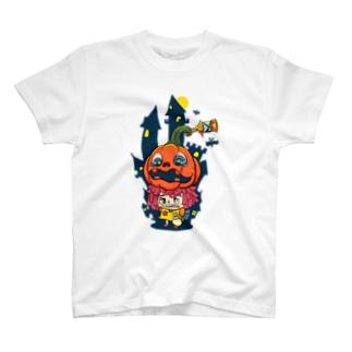 ハロウィン×ハロウィン T-shirts