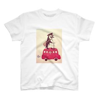 ポストマンペンギン T-shirts