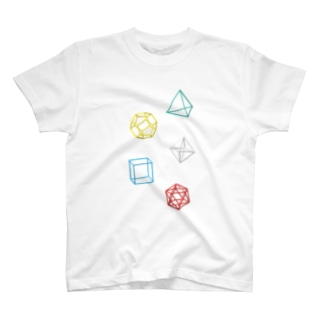 Regular Polyhedron T-shirts