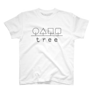 hitokoto-kotoba_tree T-shirts