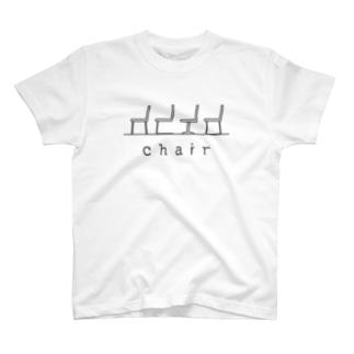 hitokoto-kotoba_chair T-shirts