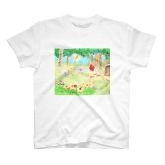 ケーキちゃん Tシャツ