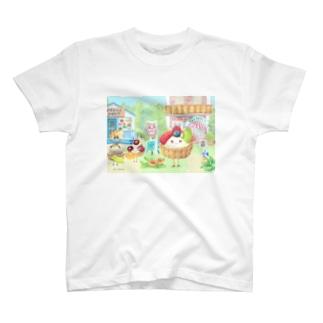 フルーツタルトさん T-shirts