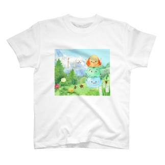 アイスキッズのぼうけん T-shirts